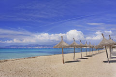 Beach in Mallorca Spain Royalty Free Stock Images