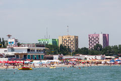 Beach from Mamaia Stock Image