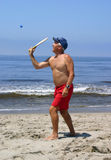 Beach Man Royalty Free Stock Photo