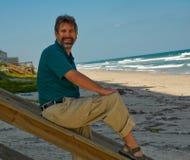 beach man στοκ φωτογραφία με δικαίωμα ελεύθερης χρήσης