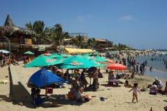 Beach of Mancora, Peru Royalty Free Stock Images