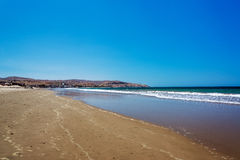 Beach in Mancora, Peru Stock Photo