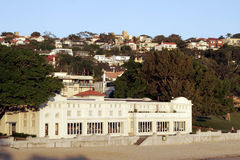 Beach Mansion stock image