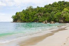 Beach Manuel Antonio Costa Rica royalty free stock images
