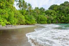Beach Manuel Antonio Costa Rica royalty free stock photo