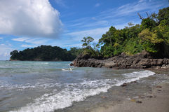 Beach at Manuel Antonio National Park, Costa Rica Stock Photography