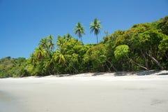 Beach in Manuel Antonio. Playa Espadilla, Manuel Antonio, Costa Rica stock images