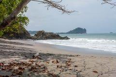 Beach near Manuel Antonion. Beach in the Manuel Antonion area of Costa Rica stock photo