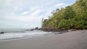 Beach near Manuel Antonion. Beach in the Manuel Antonion area of Costa Rica stock images