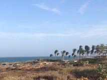 Beach from Margarita Island stock photo