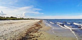 Beach in Marielyst, Denmark - baltic sea Royalty Free Stock Image
