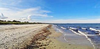 Beach in Marielyst, Denmark - baltic sea Royalty Free Stock Photos