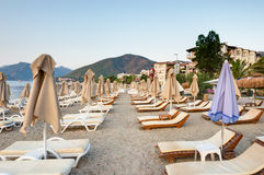 Beach of Marmaris, Turkey Stock Photography