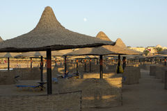 Beach in marsa alam in egypt Stock Images