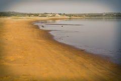 Beach on Martha's Vineyard Royalty Free Stock Photo