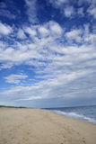 Beach on Martha's Vineyard, MA Royalty Free Stock Photography