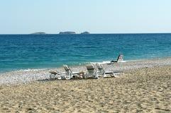Beach in Turkey Royalty Free Stock Photo