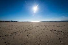 Beach in Matosinhos Stock Photo