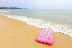 Beach mattress on the beach Royalty Free Stock Photography