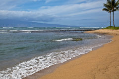 Beach in Maui Stock Photography