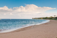 Beach in Maui Hawaii Stock Photo