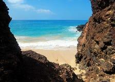 Beach, Maui, Hawaii. Beautiful day to Maui, Hawaii Royalty Free Stock Photo