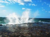 Beach in the Mediterranean Sea. royalty free stock photos