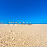 Beach of Mediterranean Sea Royalty Free Stock Image