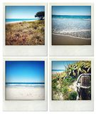 Beach memories Royalty Free Stock Photography