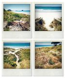 Beach memories Stock Image