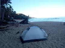 Beach in Mexico stock photos