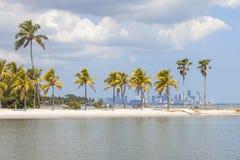 Beach in Miami, Florida Stock Photography