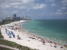 Beach in Miami, Florida Royalty Free Stock Images