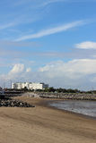 Beach and Midland Hotel, Morecambe, Lancashire Stock Photos