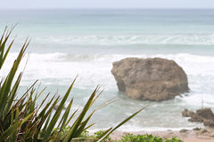 Beach Milady in Biarritz Stock Photography