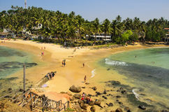 Beach in mirissa Stock Images