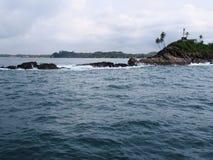 On the beach of Mirissa / Sri Lanka Royalty Free Stock Photos