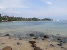 On the beach of Mirissa / Sri Lanka Stock Images