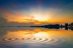 Beach mirrors the sky Royalty Free Stock Photography