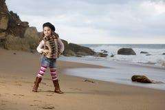 Beach model Royalty Free Stock Photo