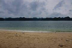 Beach at Monkey Island Royalty Free Stock Image