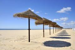 Beach at Montegordo, Portugal Royalty Free Stock Image