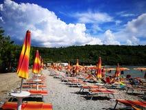 Beach. In Montenegro Stock Image