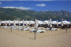 Beach Montenegro Royalty Free Stock Photos