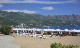 Beach Montenegro Stock Photos