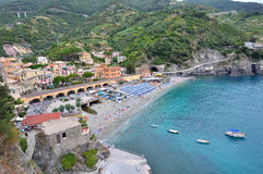 Beach of Monterosso Stock Photo