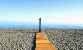 Beach in the morning Royalty Free Stock Photo