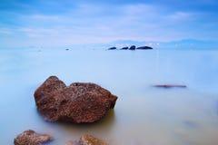Beach morning. Of xiamen gulangyu island in fujian china Stock Images