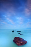 Beach morning colors. Of xiamen gulangyu island Royalty Free Stock Photography