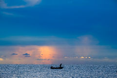 Beach. In the morning at HAU-HIN Stock Images